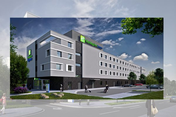 Holiday Inn Express ICE Train Station Offenburg